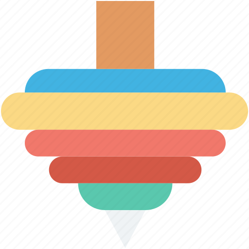 baby toy, pyramid, pyramid rings, pyramid toy, toy icon