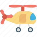 baby toy, helicopter, helicopter toy, rotorcraft, toy icon