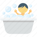 baby bath, baby tub, bath, bathing tub, bathtub icon