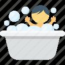bath, bathtub, baby tub, baby bath, bathing tub