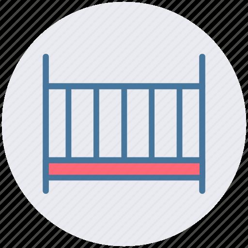 baby, cradle, crib, infant, kids, sleep icon
