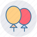 baby, balloon, balloons, child, game, kid, toy icon