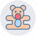 baby, bear, children, kids, teddy, teddy bear, toys icon