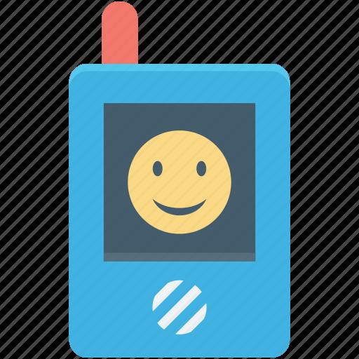 cordless, kid toy, phone toy, transceiver, walkie talkie icon