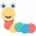 baby toy, earthworm toy, fluffy, worm, worm toy icon