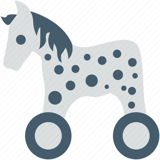 baby horse, baby toy, cradle, horse, toy icon