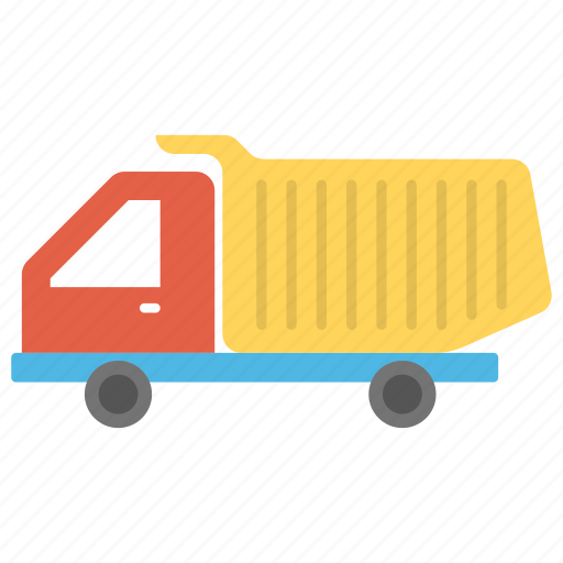 kid toy, toy construction vehicle, toy dump truck, toy transport, toy truck, toy vehicle icon