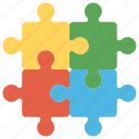 game, jigsaw game, jigsaw puzzle, play, puzzle pieces icon