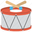 children drum, hand drum, musical instruments, percussion instrument, snare drum icon