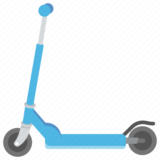 human-powered vehicle, kick scooter, push scooter, scooter, sports equipment icon