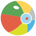 ball, beach ball, colorful ball, rubber ball, toy icon