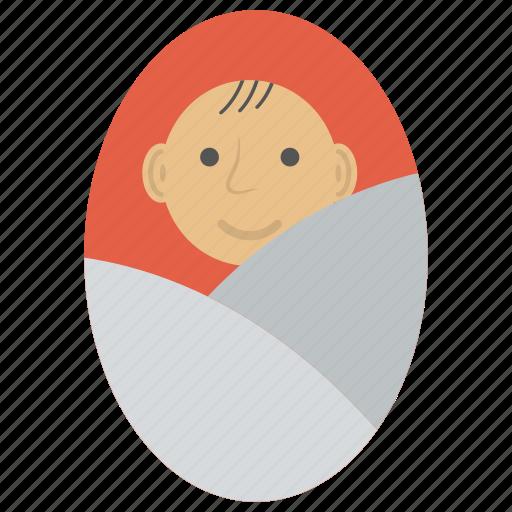 baby, child, infant, kid, newborn baby icon