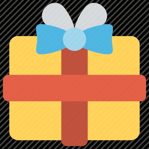 birthday, celebration, gift box, party, present icon