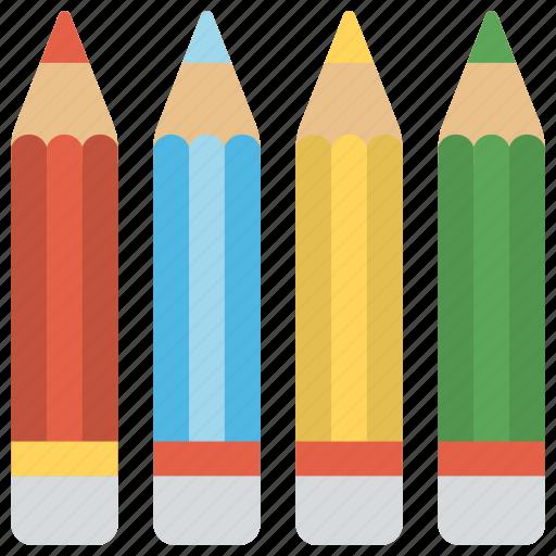 art, colors, drawing, pencil colors, pencils icon