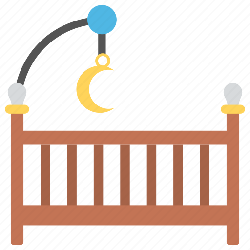 baby bed, baby cot, baby crib, baby room, nursery room icon