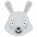 bunny, kid toy, rabbit, stuff toy, toy icon