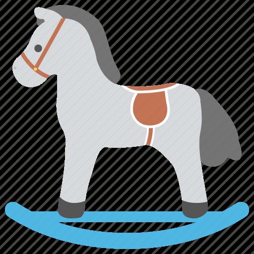 hobby horse, horse toy, kids toy, rocking horse, wooden horse icon