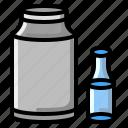 bottle, drink, glass, healthy, milk