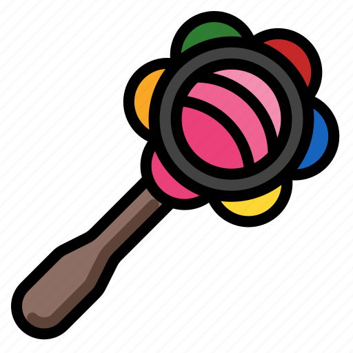 Baby, child, play, rattle, toy icon - Download on Iconfinder