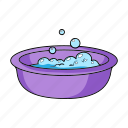 baby, bowl, cleanser, foam, laundry, things icon