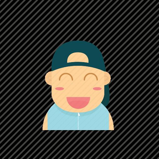 avatar, baby, boy, emoticon, face, people, smiley icon