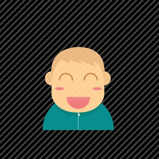 avatar, baby, boy, child, emoticon, face, smiley icon