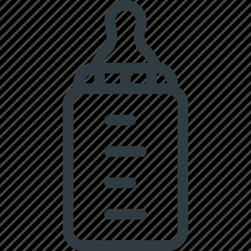 baby, bottle, child, children, feeding, food, milk icon