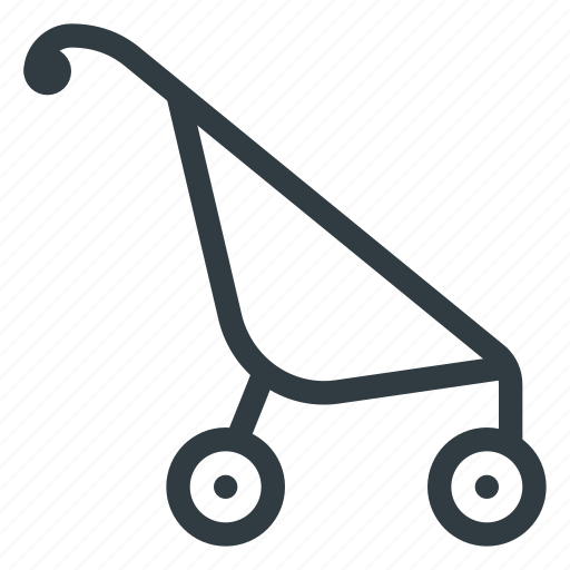 baby, cart, child, children, parm icon