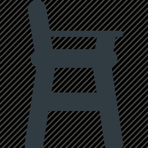 baby, chair, child, children, furniture icon