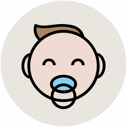baby, baby with biberon, baby with nipple, infant, kid, neonate, newborn icon