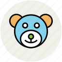 baby toy, teddy bear for infant, teddy bear for kid, teddy bear toy icon