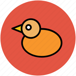 bird, duck, duckling, geese, goose, rubber ducky, shower duck, swans icon