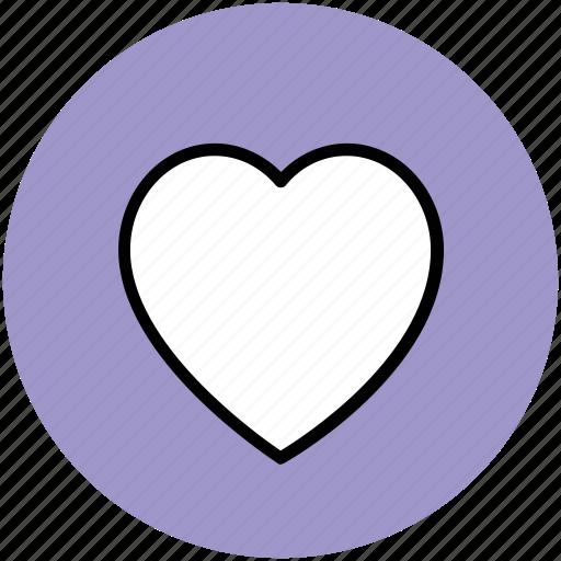 heart, like, love, shape, sign icon