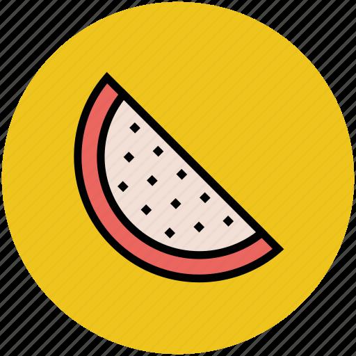 food, fruit, healthyfood, slice, watermelon icon