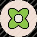 beauty, flower, nature, shape icon
