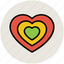 heart, like, love, shape, sign icon
