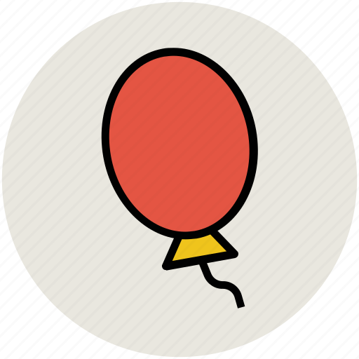 balloon, decoration, filling, fly, fun, happiness, inflatable, red icon