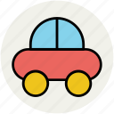 baby, car, childhood, toy, toy car icon