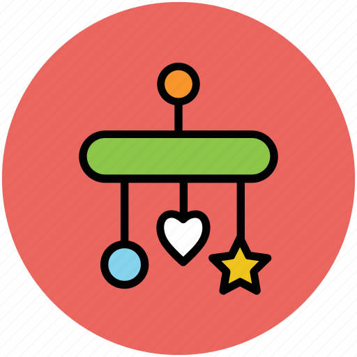baby, hanging, hanging toy, plaything, toy icon