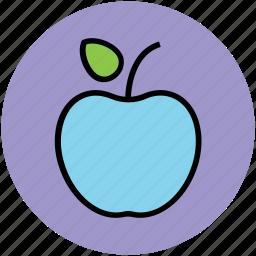 apple, food, fresh, fruit, healthy icon