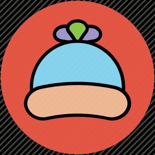 baby cap, cap, knitted, winter cap, woolen cap icon