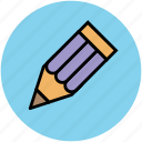 color, color pencil, crayon, draw, learn, pencil, write icon