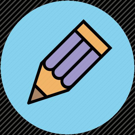 color, color pencil, crayon, draw, learn, pencil, write icon