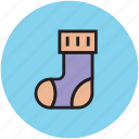 footwear, hosiery, sock, stocking, winter icon