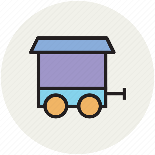 childhood, locomotive, toy, train, train toy icon