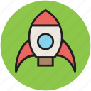 adventure, cartoon, fantasy, toy, toy rocket icon