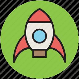 adventure, cartoon, fantasy, toy, toy rocket icon