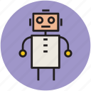 animated cartoon, cartoon, cartoon robot, happiness, robot, toy icon