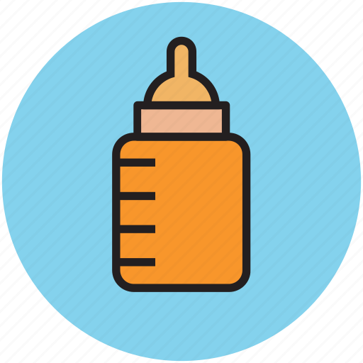 baby bottle, bottle, feeder bottle, infant feeder icon