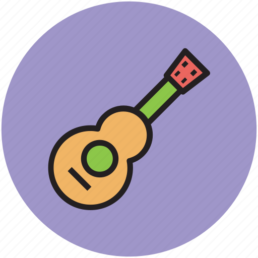 baby toy, fun, guitar, toy, toy guitar icon